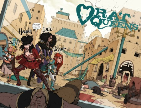 Rat Queens main characters