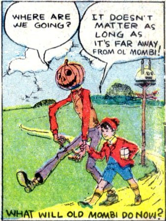Tip and Pumpkinhead in The Marvelous Land of Oz