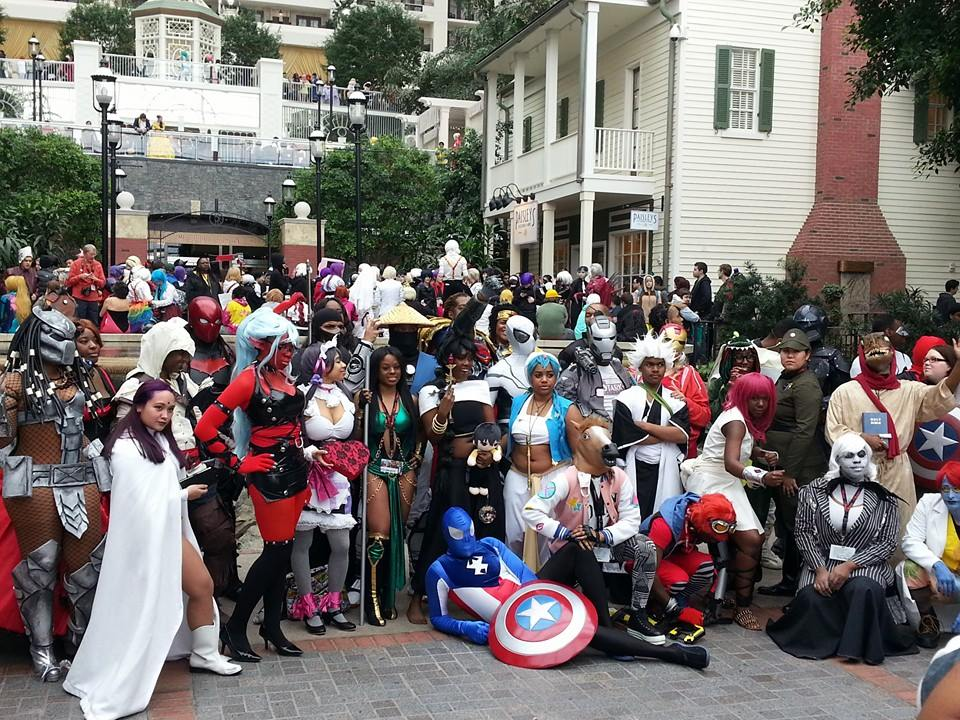 #28DaysOfBlackCosplay at Katsucon. Photo by Cosplay in America.