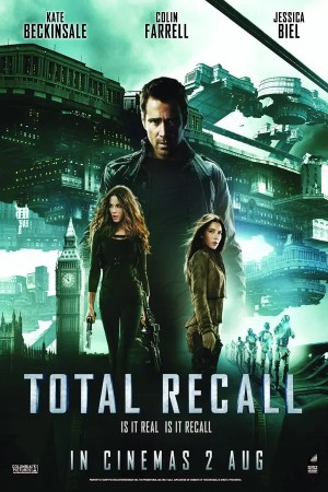 Total Recall (2012) Cinema Poster