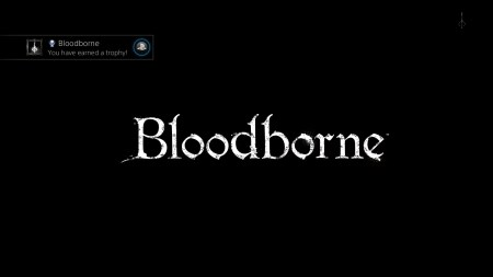 Bloodborne loading screen