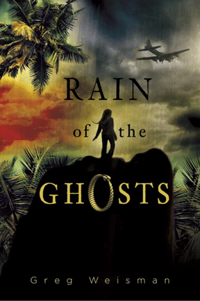 The cover of the novel Rain of Ghosts.