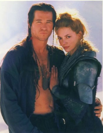 Val Kilmer as Madmartigan and Joanne Whalley as Sorsha