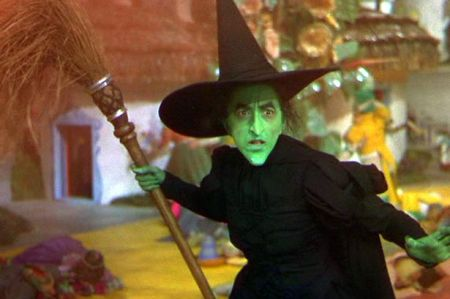 The Wicked Witch of the West in The Wizard of Oz