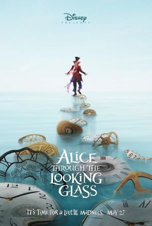 Alice through the Looking Glass poster featuring the Mad Hatter