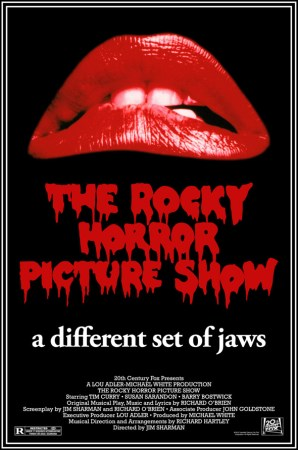 """a different set of jaws"" version of RHPS theatrical poster"