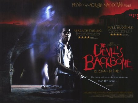 The Devil's Backbone theatrical poster featuring the main characters