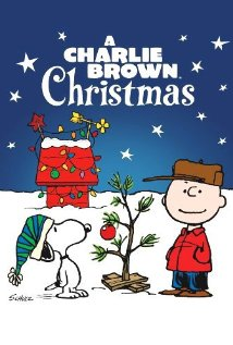 Promotional image for A Charlie Brown Christmas, featuring Snoopy, Charlie Brown, and the Christmas tree