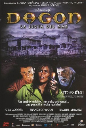 Spanish film poster for Dagon