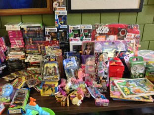 Toy Drive Donations 2