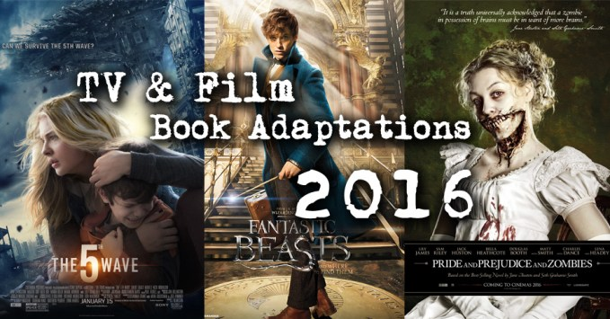 Title Image for 2016 movies and tv based on books