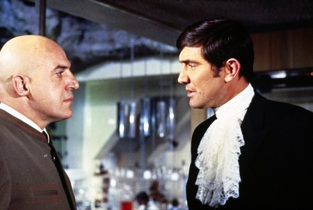 Savalas and Lazenby