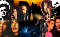 A montage of images from the posters of David Lynch's films