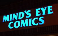 Mind's Eye Comics sign