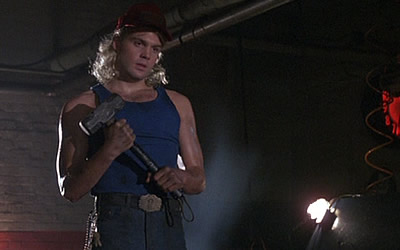 "Vincent D'Onofrio as ""Thor"" in the film Adventures in Babysitting"