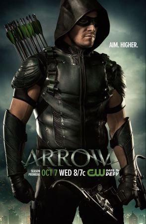 Season 4 poster featuring the Arrow