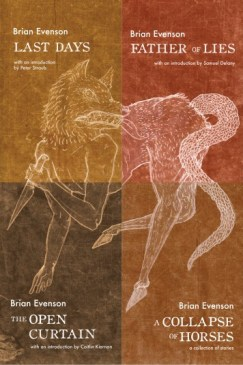 Cover of Brian Evenson New and Reissued
