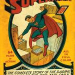 Superman comic cover