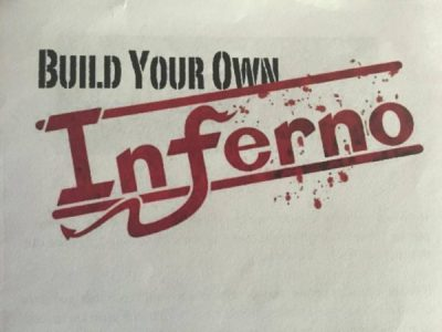 Build Your Own Inferno by Fearless Comedy Productions at Historic Mounds Theater in St. Paul playing May 20, 21, 27 & 28.