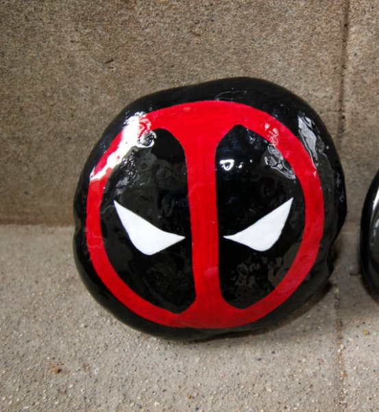 Deadpool River Rock / DigDeeperDesigns