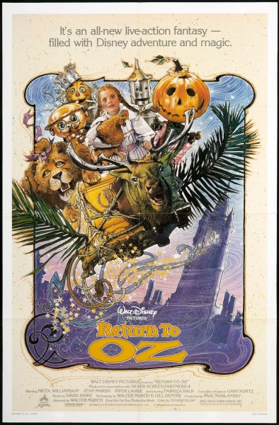 Original theatrical poster for Return to Oz.