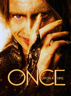 Once Upon a Time poster featuring Rumpelstiltskin