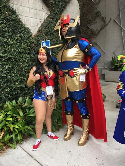Wonder woman and ___?___
