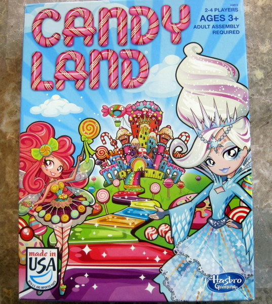 The Candy Land Game Box