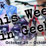 This Week in Geek header for the week of October 24, 2016