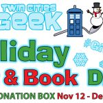 Twin Cities Geek Holiday Toy & Book Drive 2016
