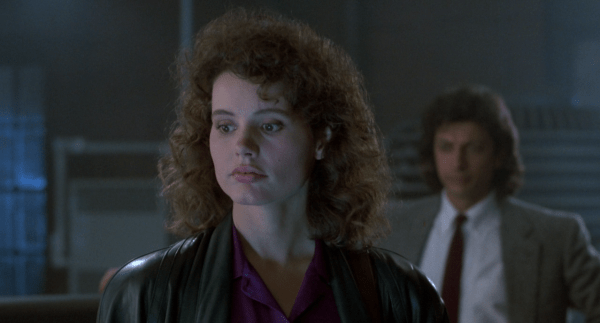 Geena Davis is concerned in The Fly.