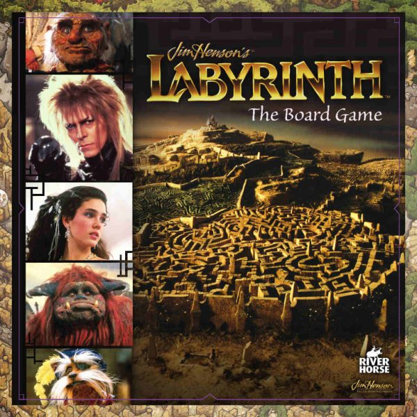 Labyrinth: The Board Game box art
