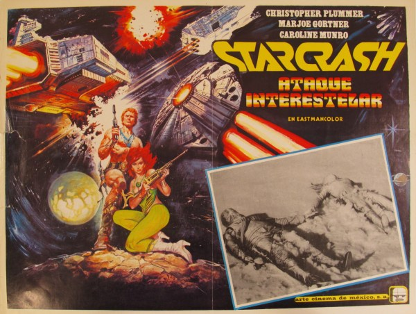 Mexican poster for Starcrash.