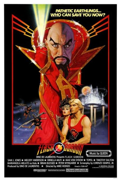 Flash Gordon theatrical poster.