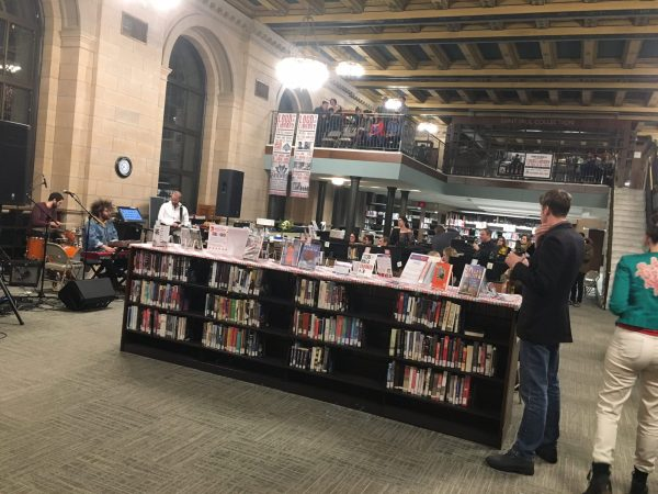 Eric Mayson performs at Loud at the Library