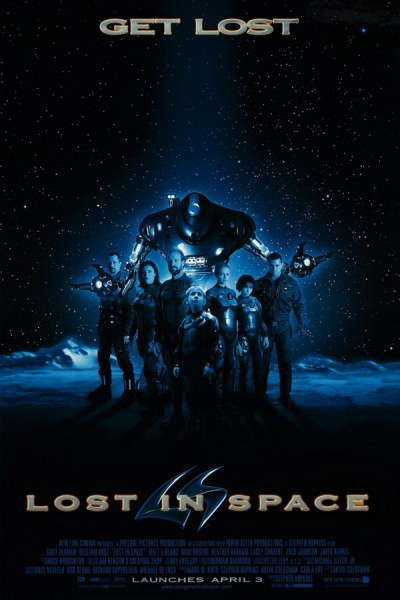 Teaser poster for Lost in Space.