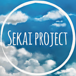 The logo for Sekai Project: a circular contrail in a cloudy sky.