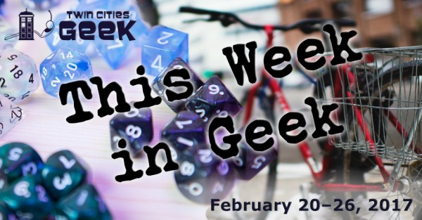 This Week in Geek Header for the week of February 20th
