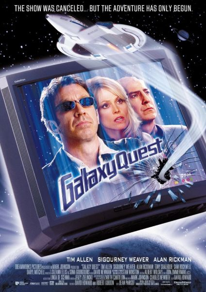Galaxy Quest theatrical poster.