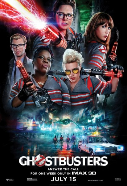 2016 Ghostbusters poster
