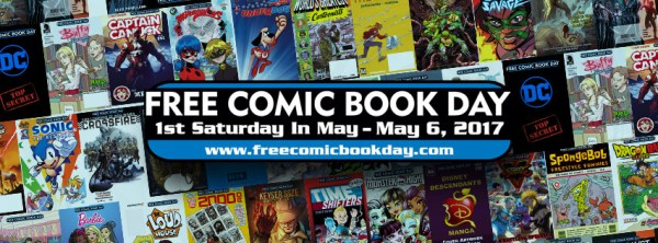 Free Comic Book Day 2017 header