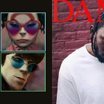Humanz and Damn album art