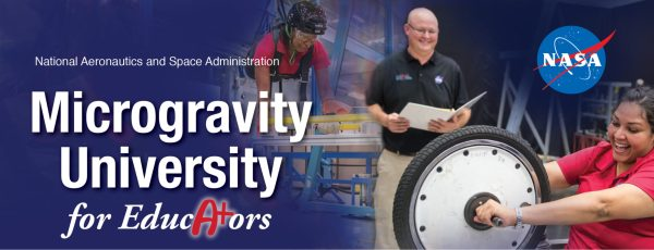 Microgravity University for Educators banner