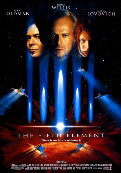 The Fifth Element theatrical poster.