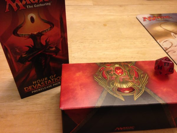 Red box with gold dragon images