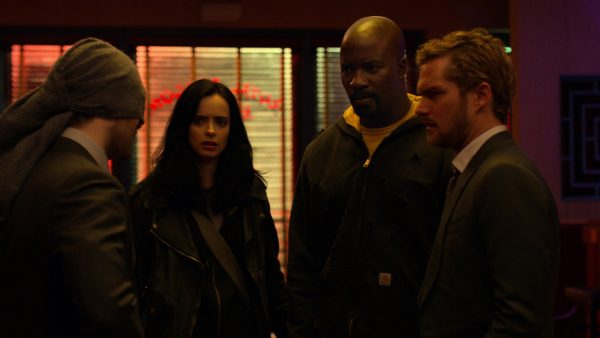 Daredevil, Jessica Jones, Luke Cage, Iron Fist