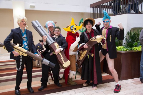 Anime cosplayers