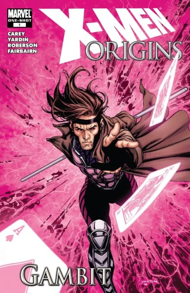 X-Men Origins: Gambit cover