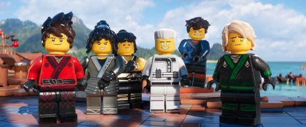 "The main ""cast"" of the Lego Ninjago Movie"