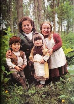 Willow and his family from the movie Willow.